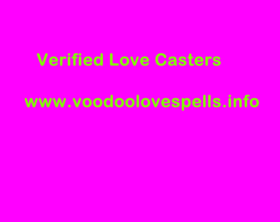 Verified Love Casters